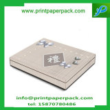 Casella di carta pieghevole di lusso su ordinazione di immagazzinamento in il contenitore di collana del contenitore di anello del contenitore di monili del regalo