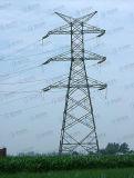 Tour de trellis de bâti en acier de transport d'énergie