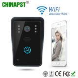 Téléphone visuel de porte de WiFi d'intercom de sonnette sans fil intelligente (PST-WiFi002A)