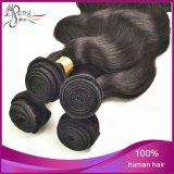 Onda brasileira não processada indiana quente do corpo do cabelo do Virgin do cabelo humano