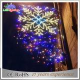 Indicatore luminoso di palo festivo di natale della decorazione solare della via del LED
