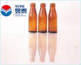 Bouteille en verre de la vente 500ml de boisson chaude de boisson non alcoolisée