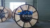 N2xsey, cabo distribuidor de corrente, 3.6/6 quilovolts, 3/C, Cu/XLPE/Cws/PVC (VDE do RUÍDO 0276-620)