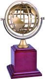 Trofeo del metal y de la madera del OEM / ODM 3D