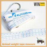 Misura di nastro animale del peso Pormotional della vetroresina all'ingrosso del PVC della Cina (WT-002)