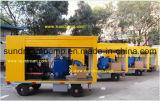 트레일러에 의하여 거치되는 기름 또는 가스 또는 연료 이동 펌프 ISO9001