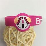 Bracelets personnalisés amicaux de silicones d'Eco Debossed