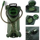 Kampieren, kletternden militärischen grünen Blasen-Beutel des Wasser-wandernd 2L