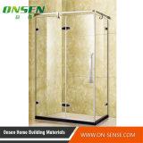 Cabine do chuveiro do aço 304 inoxidável com vidro Tempered