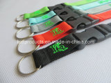 2015 förderndes Eco-Friendly Custom Lanyard von Glow in The Dark