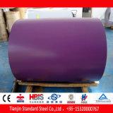 Violette en pastel PPGI de Ral 4009 dans la bobine