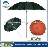 parapluie rond d'inclinaison d'alliage de 2.5m Alu - Sy2701