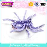 El último diseño de la broche de la araña púrpura grande