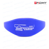 Bracelet 100% programmable d'IDENTIFICATION RF de Waterpfoof d'impression de Silk-Screen pour la piscine