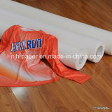 rolo foleiro pesado do papel de transferência do Sublimation do Anti-Fantasma 100GSM para o Sportswear, Spandex