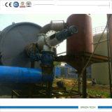 planta de recicl plástica de 10ton Pyrolyzation que faz o petróleo plástico