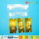 EPC1 Gen2 de Hittebestendige UHFRFID markering van het inlegseletiket voor batterij het volgen