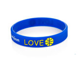 Progettare il Wristband per il cliente variopinto del silicone per il regalo di promozione