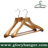 Prenda Percha de madera para el hombre traje ropa de muebles Moda Display
