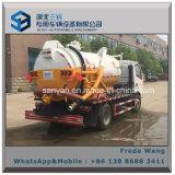 下水道の吸引のタンク車Dongfeng販売のためのトラックを吸う下水5000リットルの