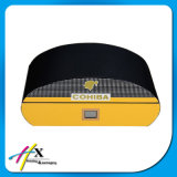 금속 자물쇠를 가진 기능적인 스페인 삼목 여송연 담배 저장 상자 상자