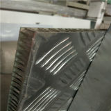 Embossed di superficie Anti Slip Aluminium Honeycomb Panels per Fooors