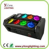 80W Lichten van DJ van de Was van de Kleur van de Straal RGBW van CREE de Mobiele