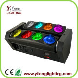 80W luces móviles de DJ de la colada de color de la viga del CREE RGBW