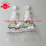 Levantarse la bolsa plástica con el canalón para el líquido de lavado 2L