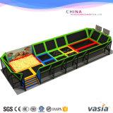 Спортивная площадка Trampoline детей Vasia для продавать пригодности горячий