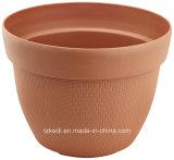 Pote de cesta de plástico redondo (KD7801)