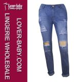 Jeans delle donne di modo dei vestiti delle donne (L453)