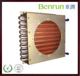 Aletta Type Water Cooled Evaporator con Copper Tube