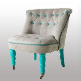 Cadeira Home do sofá do pé de madeira da mobília do projeto