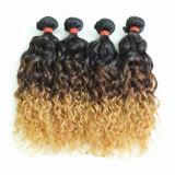 Cabelo humano brasileiro da extensão Queenlike não processada do cabelo do Virgin