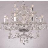 Klassische Kristalllampe und Leuchter für Kunst-hängenden Beleuchtung-Dekor