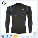 Le football en gros uniforme Jersey d'usage de compression du long football de douille