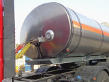 23-25cbm Chemical Liquid Transport Insulation Tank Semi Trailer