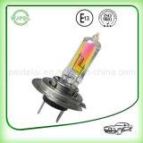 bulbo de lámpara auto del halógeno de la niebla del cuarzo H7 del arco iris de 24V 100W