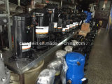 Compresor de aire de tornillo industrial de baja presión de refrigeración con compresor