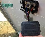 Установка крыши фотоэлемента панели солнечных батарей триангулярная с держателем балласта