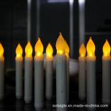 طويلة صفراء يرفرف بطارية [لد] عصا شمعة أضواء [فوتيف]