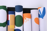 Stuoia stampata Placemat dello scrittorio di colore completo
