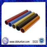 Verschieden von Farbe anodisiertem Aluminiumrohr
