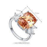 Monili a cristallo dell'orecchino dell'argento di lusso di modo (J-0121-E)