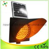 Señal de tráfico solar luz estroboscópica LED luz de advertencia