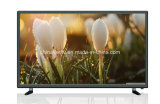 Couleur futée TV 43 pouces 12 volts avec l'affichage à cristaux liquides actionné solaire TV de C.C LED