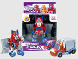 O B/O transforma o robô do carro do brinquedo para o menino (H6771005)
