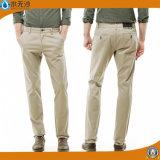 Pantalon occasionnel de coton de pantalon de Chino des hommes directs d'usine
