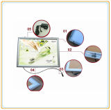 Beleuchtung-Kasten des Rand-Licht-Aluminiumfoto-Rahmen-LED